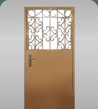 железные решетчатые двери в москве