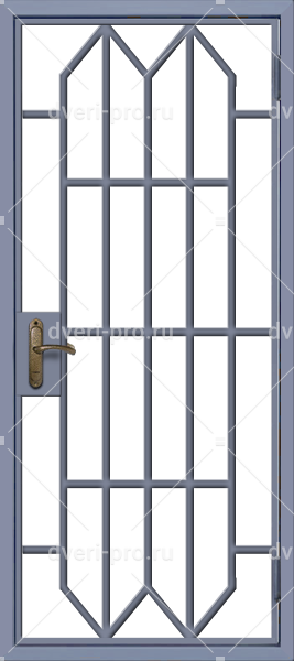 решетчатая дверь рдс 09