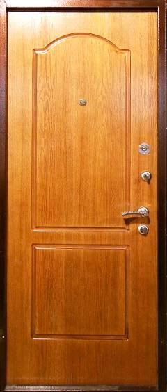 металлические входные двери шпонированные филен