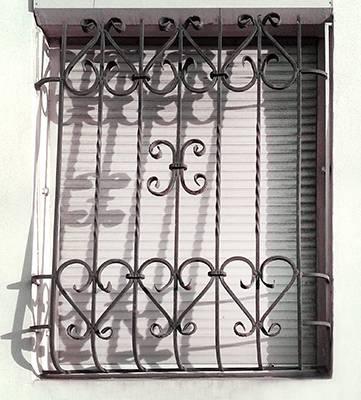 раменское металлическая решетка на дверь