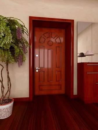 сколько стоит установка общей железной двери
