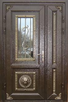 двери прочные входные металлические двери гаражные ворота решетки оптом 2