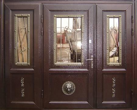 производство металлические двери семеновская